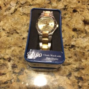 Mickey Mouse Watch/Date display NEW Needs Battery